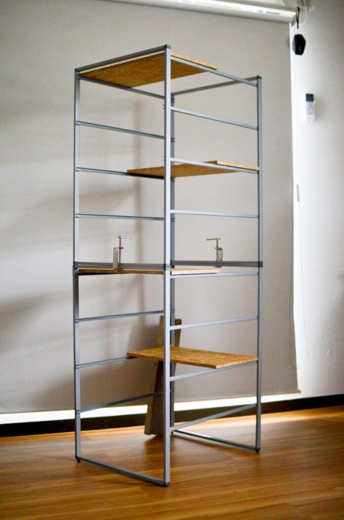 IKEA家具でDIYしたキャットタワー