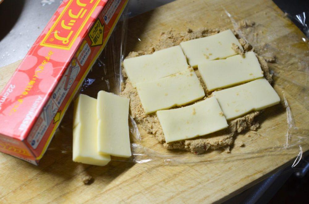 チーズのぬか漬け。