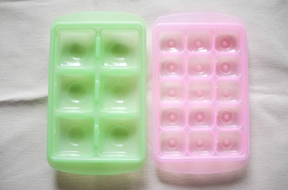 エジソンママ(Edisonmama)の離乳食冷凍保存容器。