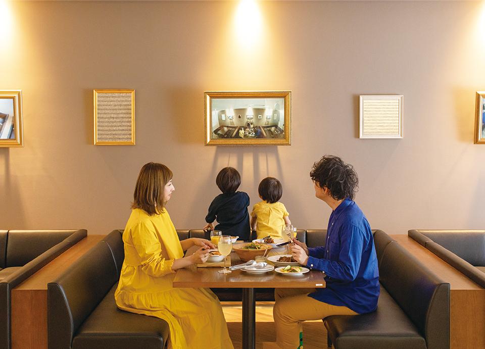 東京都現代美術館のレストラン、「100本のスプーン」のイメージ画像。