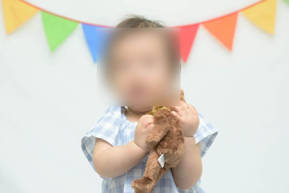 親子撮影会でカメラマンに撮影してもらった写真