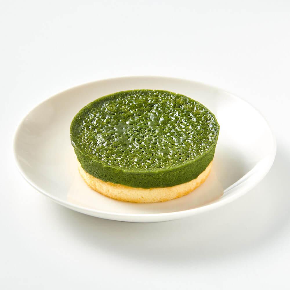 無印良品「宇治抹茶ケーキ」画像