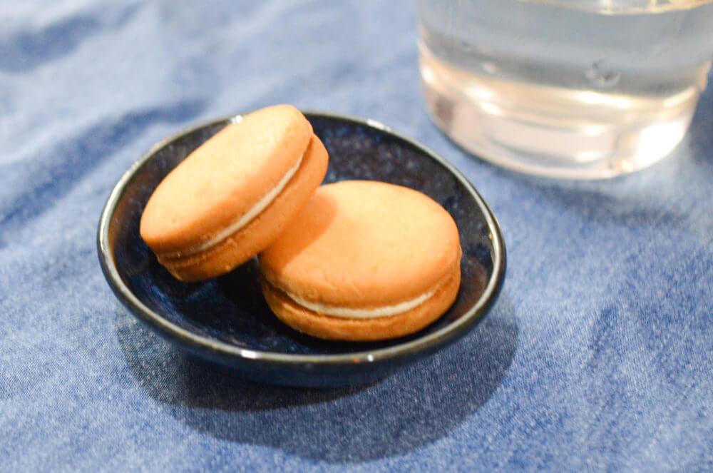 カルディで見つけた「塩バタかまん」クッキー